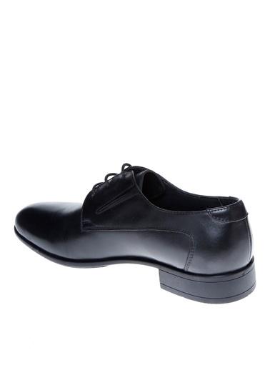 Cotton Bar Bağcıklı Klasik Ayakkabı Siyah